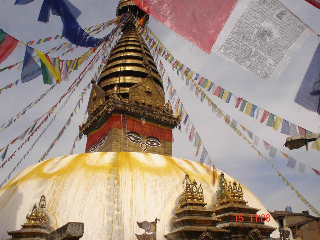 Swayembhu Nath Stupa Kathmandu, Nepal