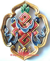 Buddhist Auspicious Sign Endless knot
