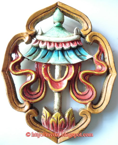 Buddhist Auspicious Sign Parsol