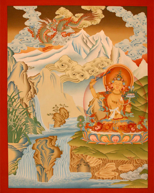 Buddhist Manjushree Thanka