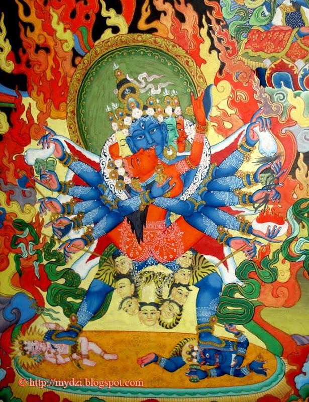 Buddhist Chakrasamvar Shakti