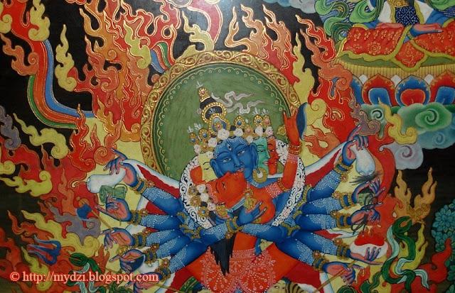 Buddhist Chakrasamvara Shakti