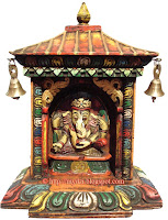 Small Ganesha temple