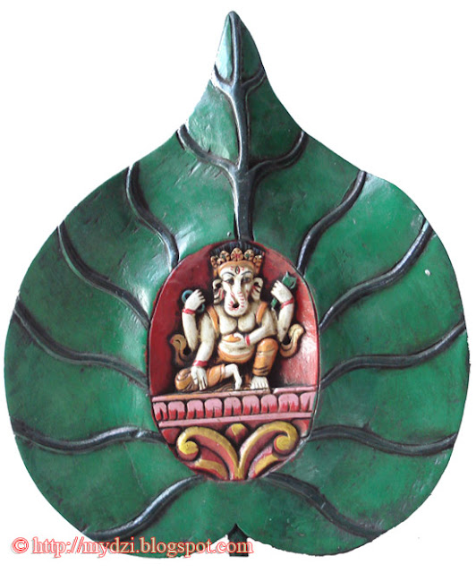Ganesha in Leaf