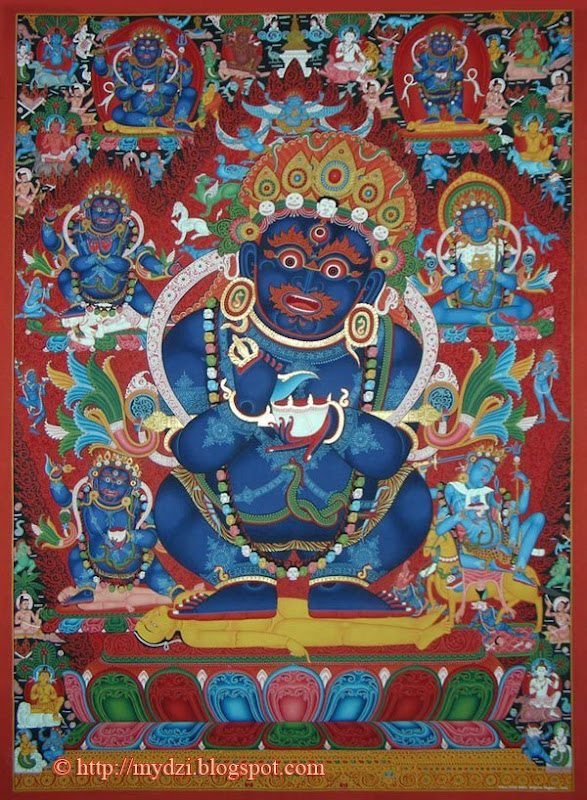 Buddhist Mahakala Thanka