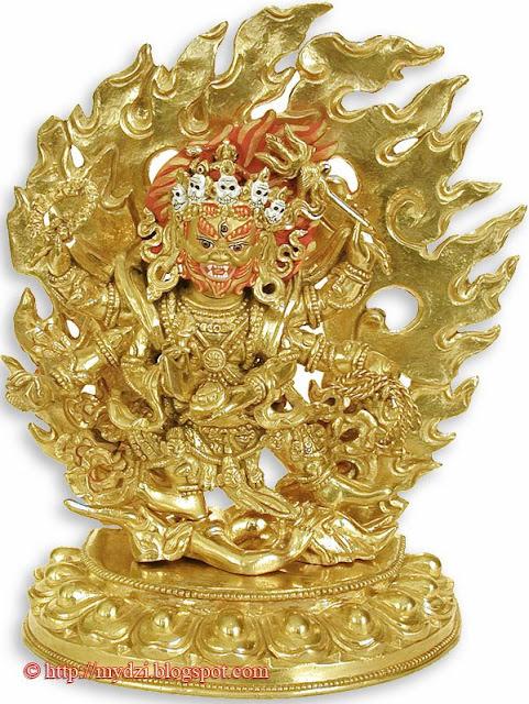 Buddhist Vighantaka Mahakala