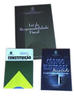 Brinde Grátis Código Eleitoral, Constituiçõe e Lei de Responsabilidade Fiscal