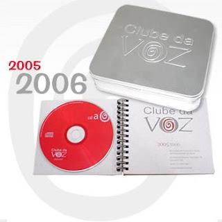 Brinde Grátis CD Clube da voz