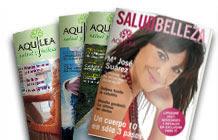 Brinde Grátis Revista Aquilea Salud y Belleza