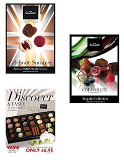 Brinde Grátis Catálogos 'Hotel Chocolat'