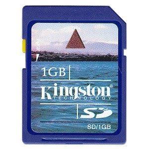 Brinde Grátis Cartão de memória de 1GB