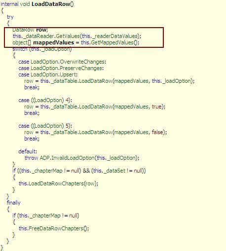 DOT NET TRICKS: ADO NET : Some internals uncovered Part 2