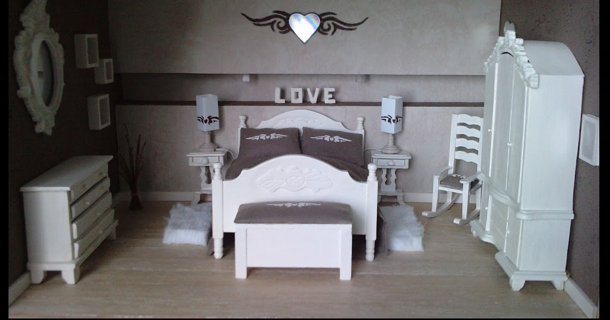 Vitrine Mini Manie: La chambre des amoureux