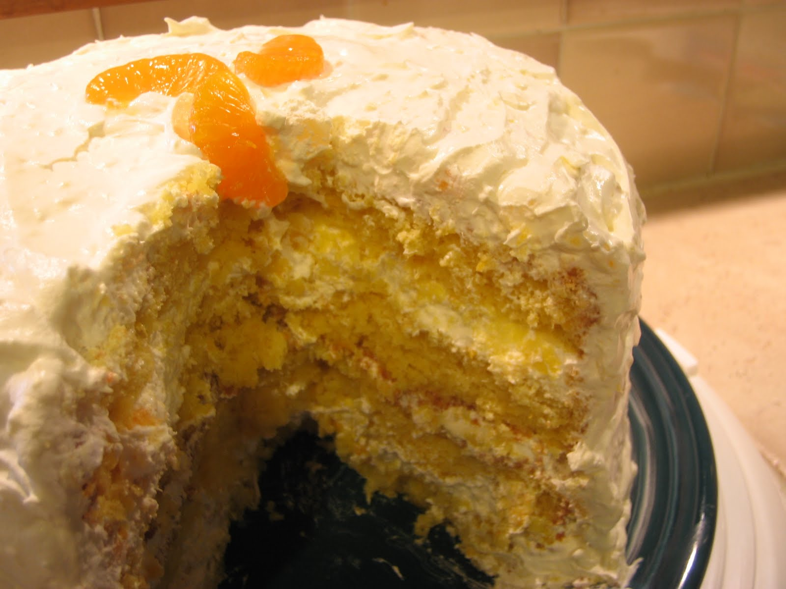 The Baking Redhead: Mandarin Orange Pineapple Cake