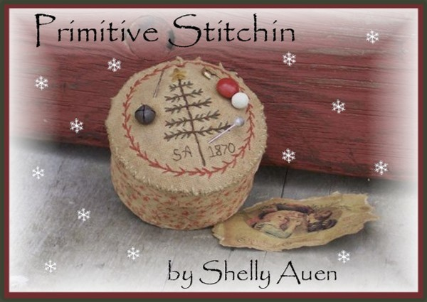 Primitive Stitchin' by Shelly Auen