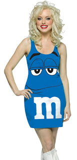 Blue M&M Dress