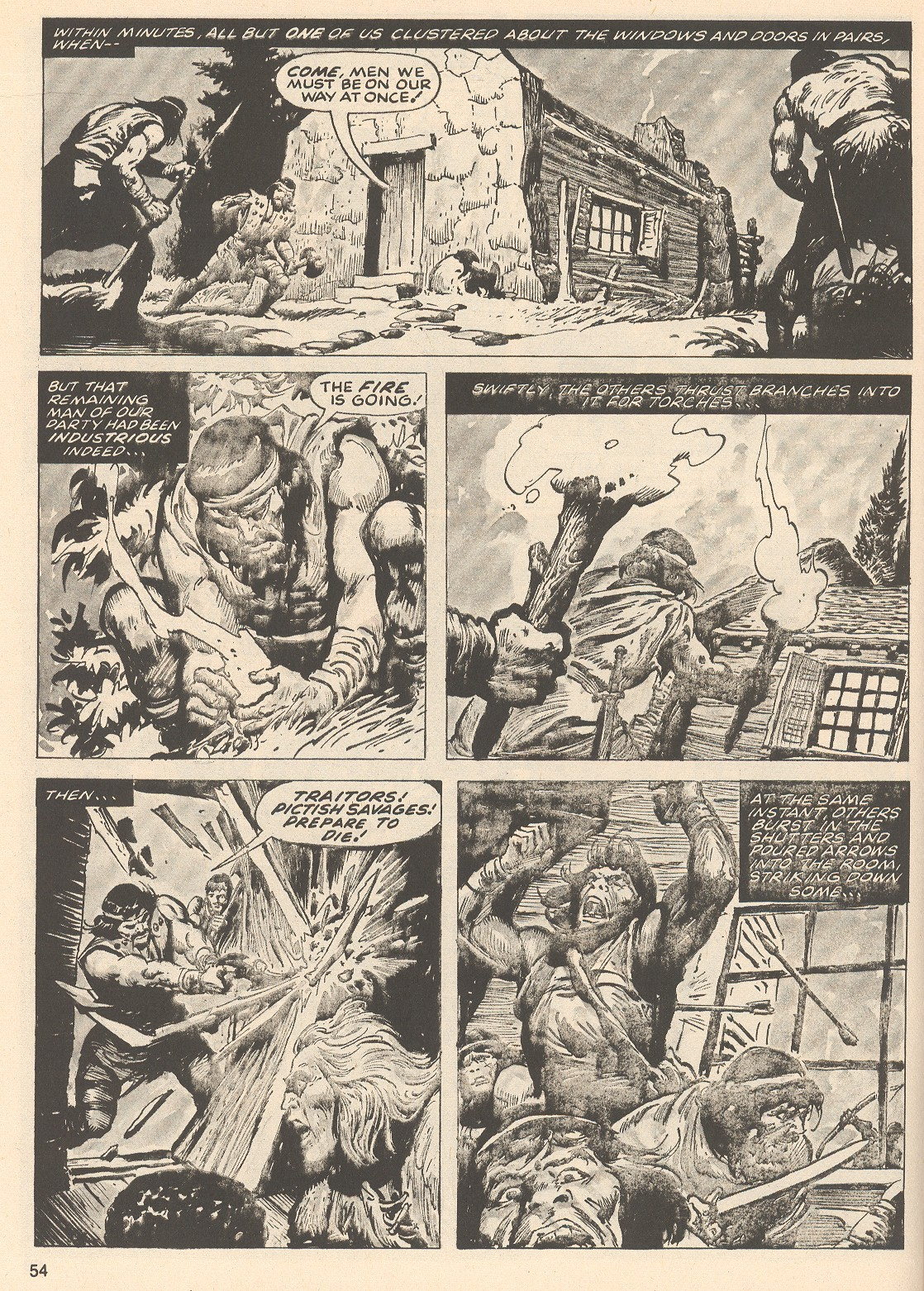 The Savage Sword Of Conan Issue #76 #77 - English 54