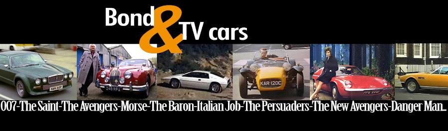 Bond&TV Cars