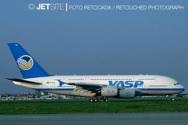 Varig A380 PP-LUC A380-VASPJ