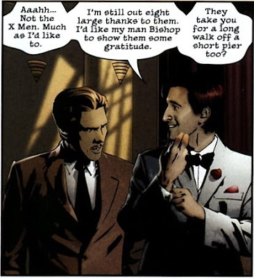 Panel Discussion: Scans from X-Men: Noir and Dark Reign