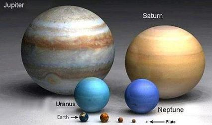 compare jupiter and earth