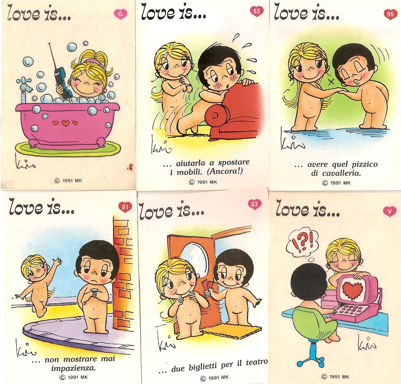 """how romantic """"Love is ... """" vignettes?: s-fashion-avenue.blogspot.com/2011/02/love-is-peynet.html"""