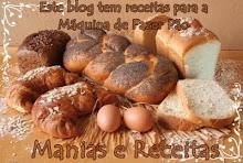 Este Blog tem Receitas para a Máquina de Fazer Pão