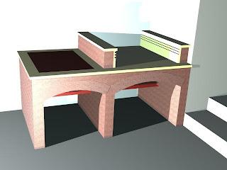 Mis trabajos mejores construcci n de una barbacoa y paellero - Paelleros de obra modernos ...