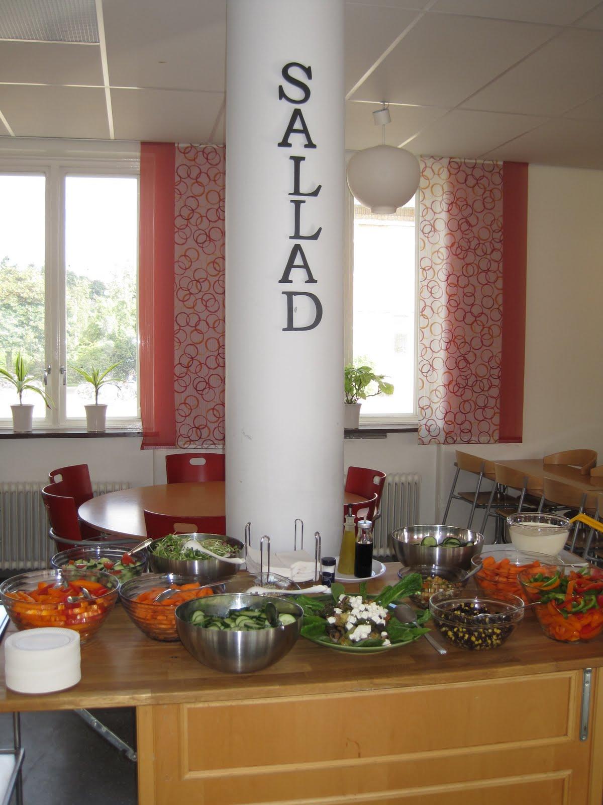 Hållbar kompetens: vackra färger på salladsbordet