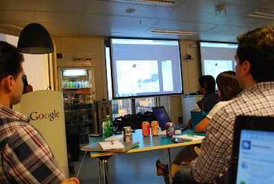 Oficinas Google desafio Google Chrome