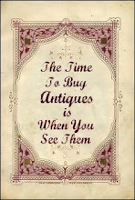 ANTIQUES ~ Buy Vintage!