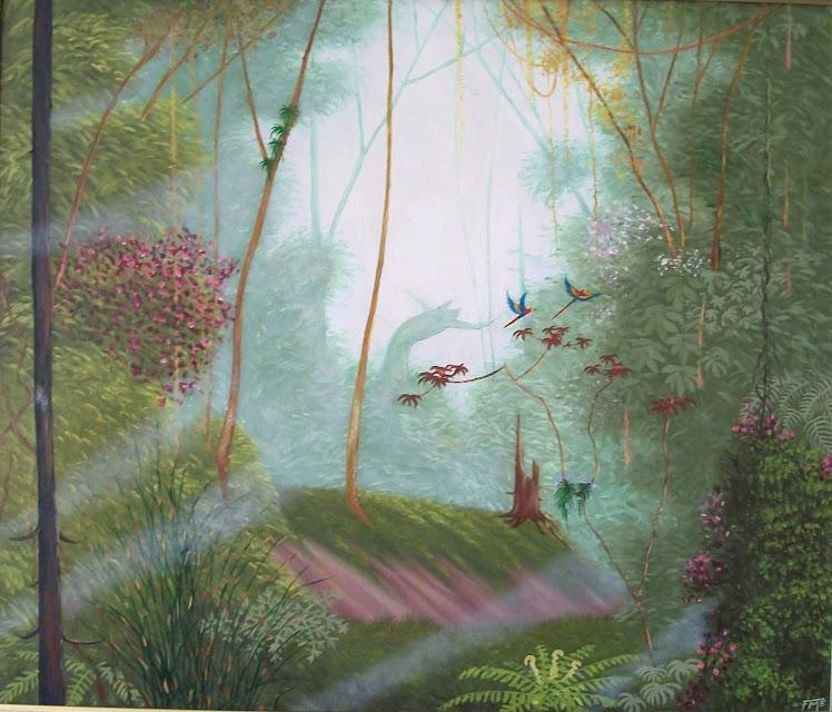 óleo sobre tela por Flávio Moreno