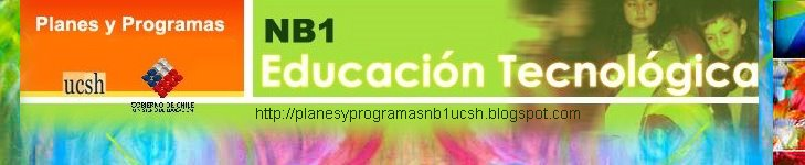 Planes y programas Educación Tecnológica NB1