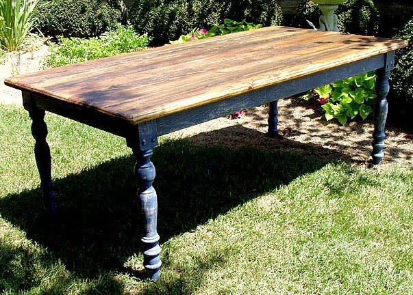 Splendid minta outdoor farm table for Farmstead table