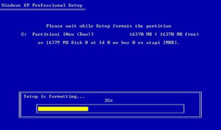 Install windows xp in less than 15 minutes