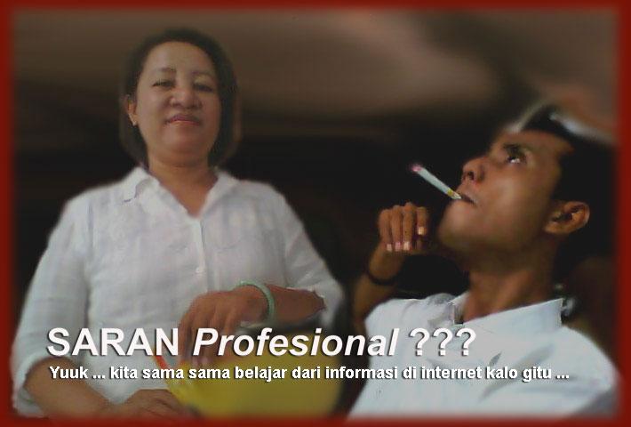 Saran Profesional