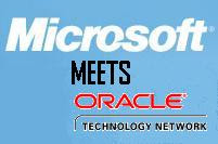 Microsoft meets Oracle
