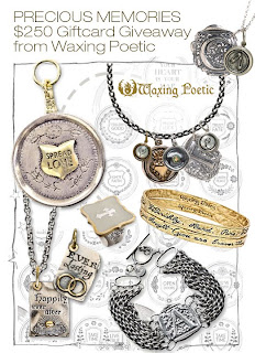 waxing poetic contest image Shopping and Goodies October 27, 2010
