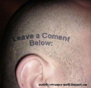 Funniest and Wierdest Tattoos @ STRANGE WORLD