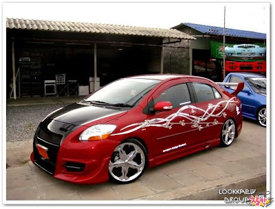 Modified Toyota Vios In Thailand @ hot pictures