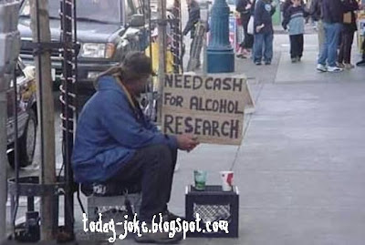 creative homeless @ today's joke