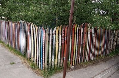 creative fence @ strange world