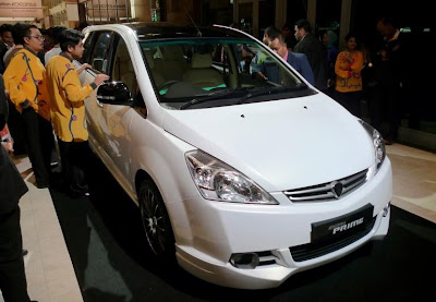 Proton Exora Prime car @ auto world show
