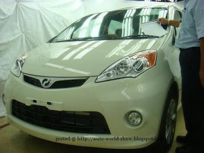 Perodua MPV @ auto world show
