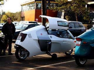 MonoTracer Bike @ auto show