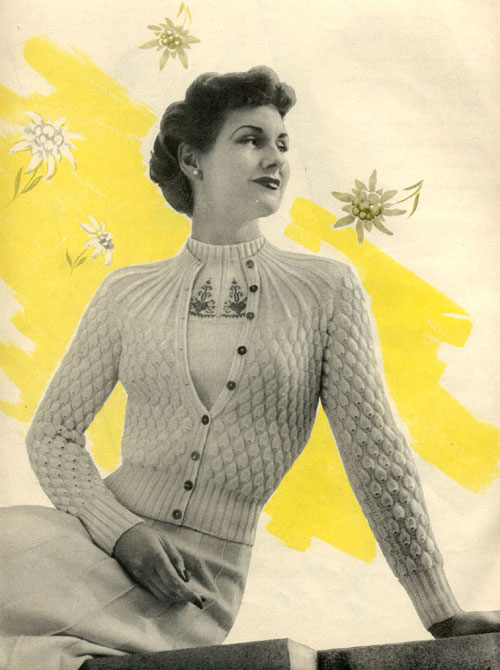 Vintage Purls - Free vintage knitting patterns
