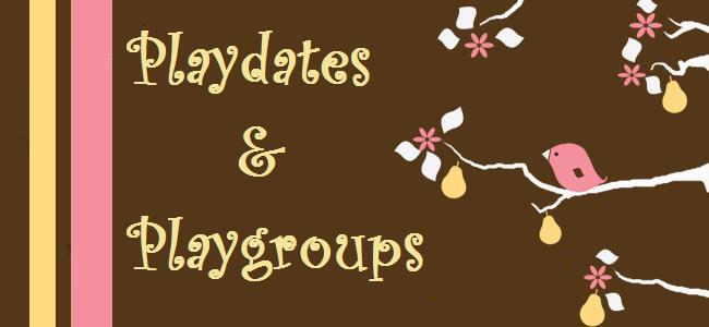 Playdates and Playgroups