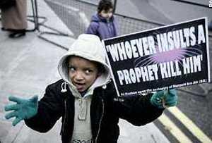Halloween: 'Whoever insults a prophet kill him'