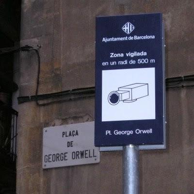 Zone vigilada - Pl. George Orwell - CCTV