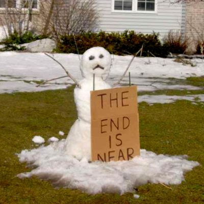Snowman: The end is near